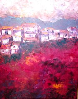pueblo rojo by Jaime Pérez Magariños