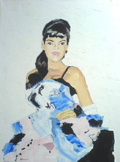 Blue Dress by Joanna Ewa Glazer