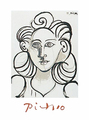 Portrait of a Woman by Pablo Picasso