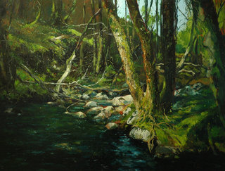 Seixo river by Francisco Sutil