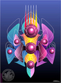 Space Embrio by Asher Kalderon