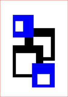 4 Squares II by Asbjorn Lonvig