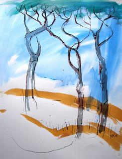 Rome Trees 2 by Alex Mackenzie