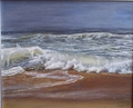 Waves on the beach of La Paloma (second version) by Rosario de Mattos