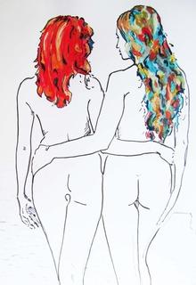 NUDES by Raquel Sara Sarangello
