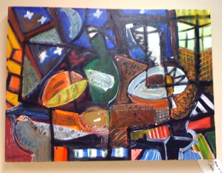 Cubism Food Original Art by Enrique Lazzaro :: PicassoMio