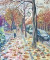 Boulward at autumn 3 by Moti Lorber