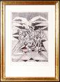 L'Aigle by Jacques Villon