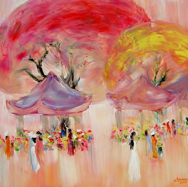 Spring by Tran Tuan