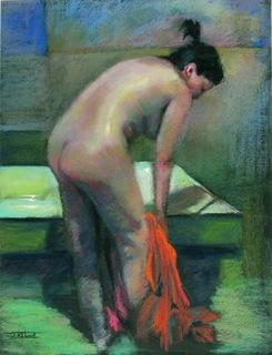 In bathrroon by Antonio Abad