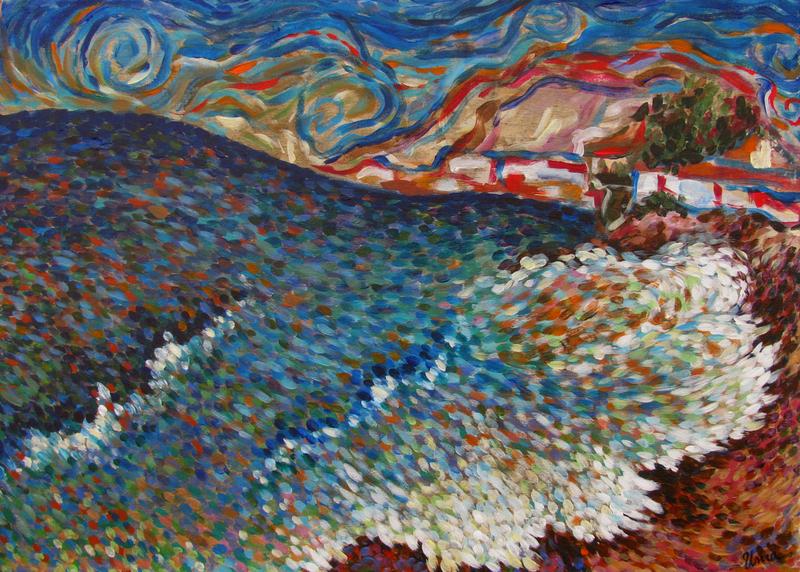 The Ocean 3 by Inga Erina