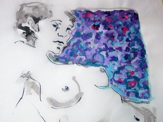 NATH NUDE by Raquel Sara Sarangello
