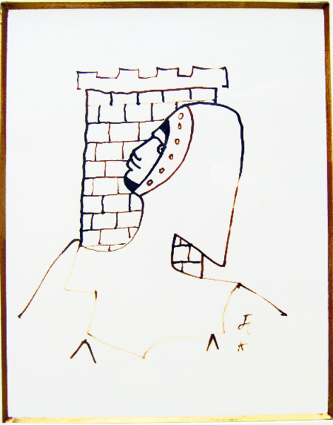 Chevalier a la tour by Jean Cocteau
