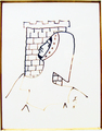 Chevalier a la tour by Jean Cocteau