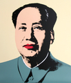Mao 5 by Andy Warhol