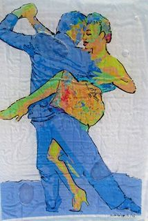 DANCE TANGO ART by Raquel Sarangello