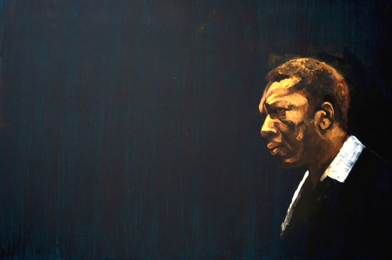John Coltrane by Teresa Díaz Chicote