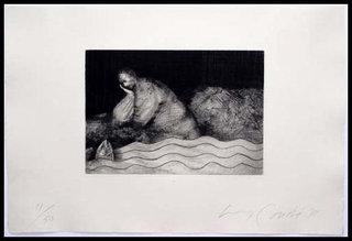 """""""Contemplativa en el lago"""" by Miguel Condé"""