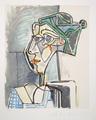 Tête de Femme au Chignon by Picasso Estate Collection