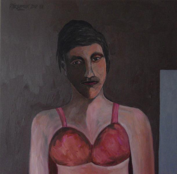 Portrait of woman by Ricardo Hirschfeldt