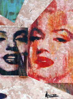 Andy Warhol and two Marilyns - the factory by Marco Mark