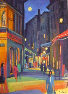 Rue de Saint Jean (Lyon) by Guillermo Martí Ceballos