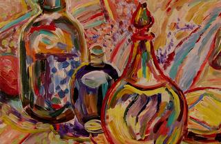Orient bottles by Inga Erina