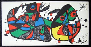 Miro Sculptor - Italy by Joan Miró