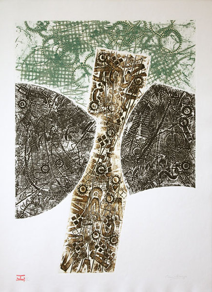 Chango´s hatchet -1 by Carlos Rafael Uribazo Garrido