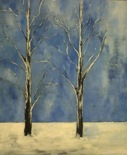 Winter trees I by Clara Duch