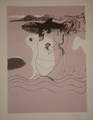 Carpeta con 10 litografías de Castillo, edición PALOMARES by Jorge Castillo