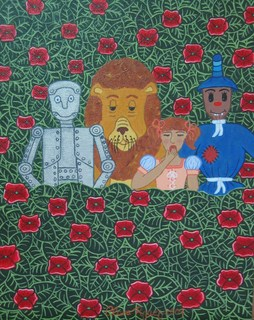 El campo de amapolas venenosas by Clara Rodriguez