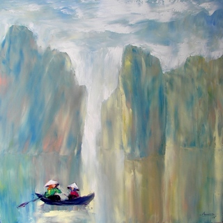 Morning in Halong bay by Tran Tuan