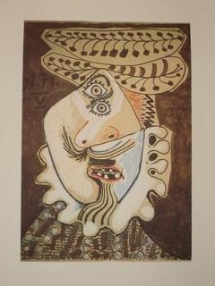 Litografia de PICASSO by Pablo Picasso