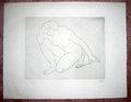 Femme Agenouillee sur le Genou Gauche, Le Coude sur le Genou Droit by Aristide Maillol