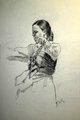 Dancer by Francisco Sutil