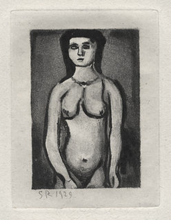 Fille Nue by george rouault
