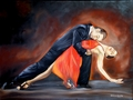 Tango embrace by Patricia Vicente