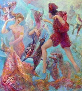 Fantasy by Sylva Zalmanson