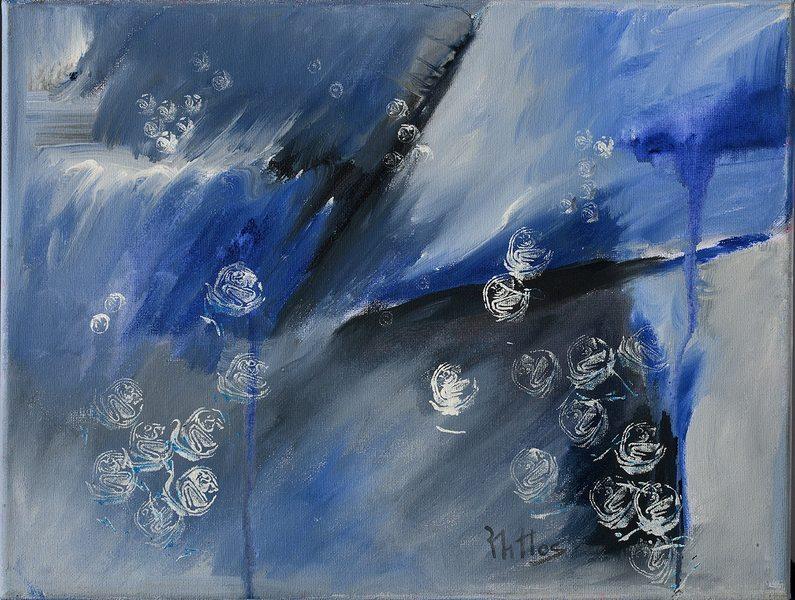 The garden of roses 15 by Rosario de Mattos