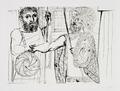 Etude pour Lesistratas by Picasso Estate Collection