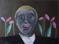Man with tulips by Ricardo Hirschfeldt