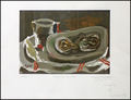 nature morte aux huitres by Georges Braque