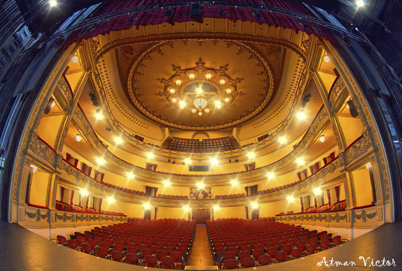 inside Guimera theatre by Atman Victor