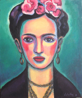 Frida Kalho by Guillermo Martí Ceballos