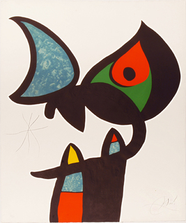 Serie Espriu-Miro. Plata III by Joan Miró