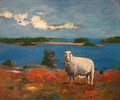 One of His Sheep (Ewe) by Scott Andrew Spencer
