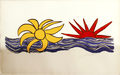 The Sun and the water by Alexander Calder