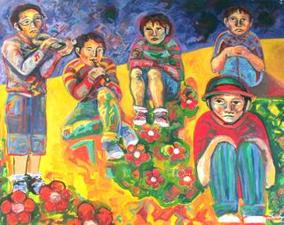 CHILD MUSICIANS by Raquel Sara Sarangello