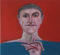Man with finger by Ricardo Hirschfeldt